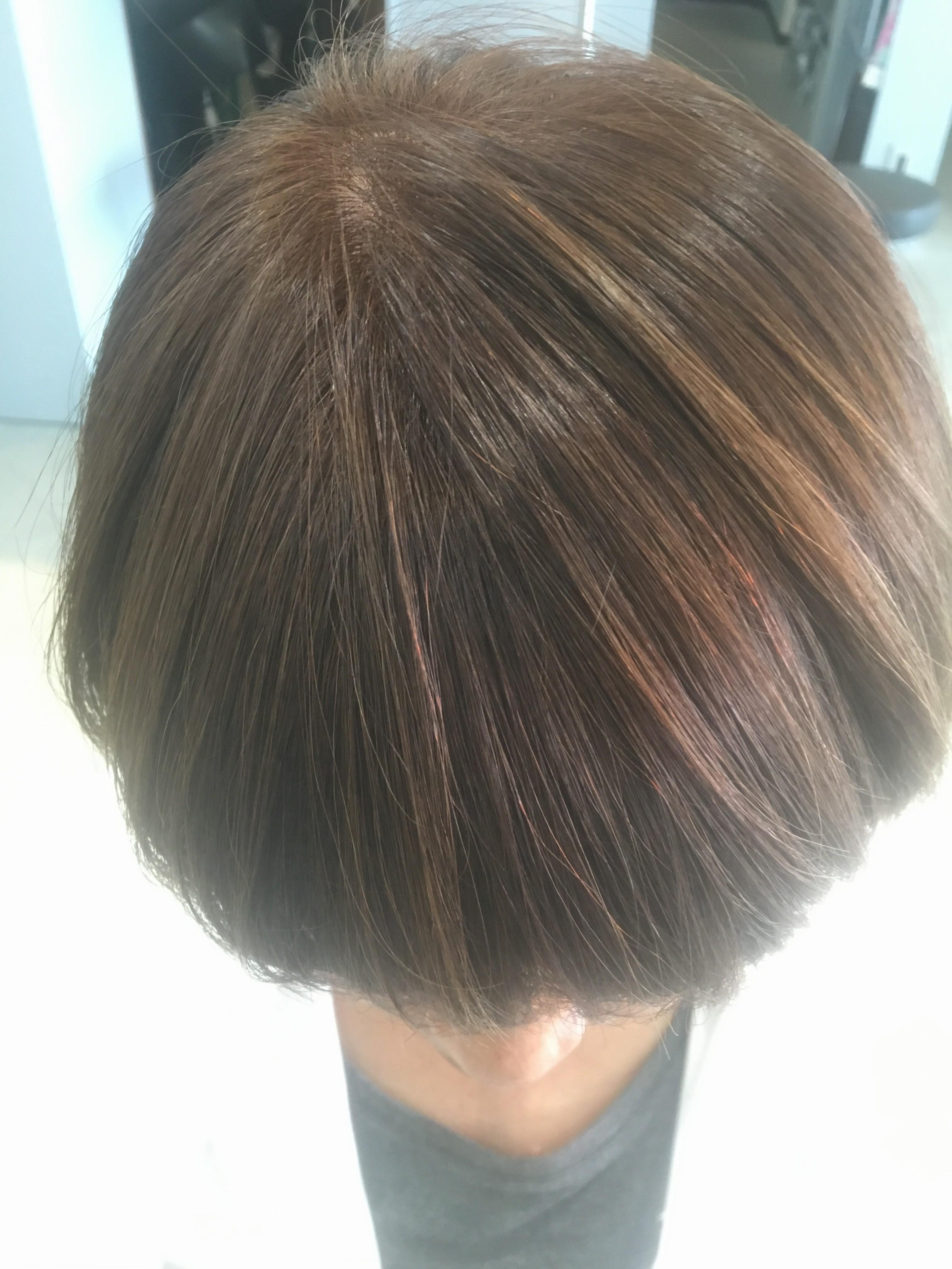 日立 日立市 美容室 美容院 ヘアサロン まる マル maru. ヘアカラー カラーリング 白髪染め