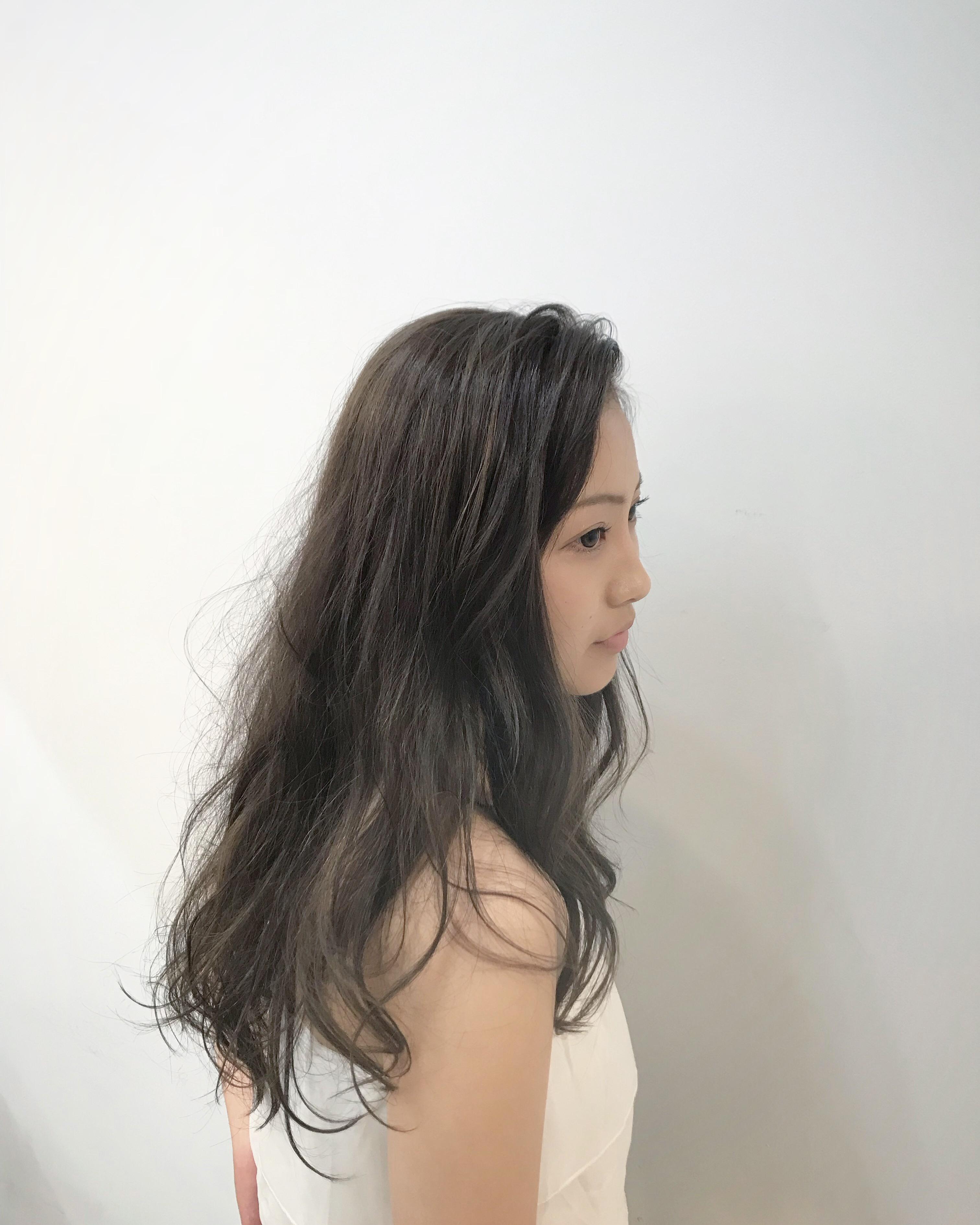 日立市美容室maruまるマル ハイライト ブリーチ カラー